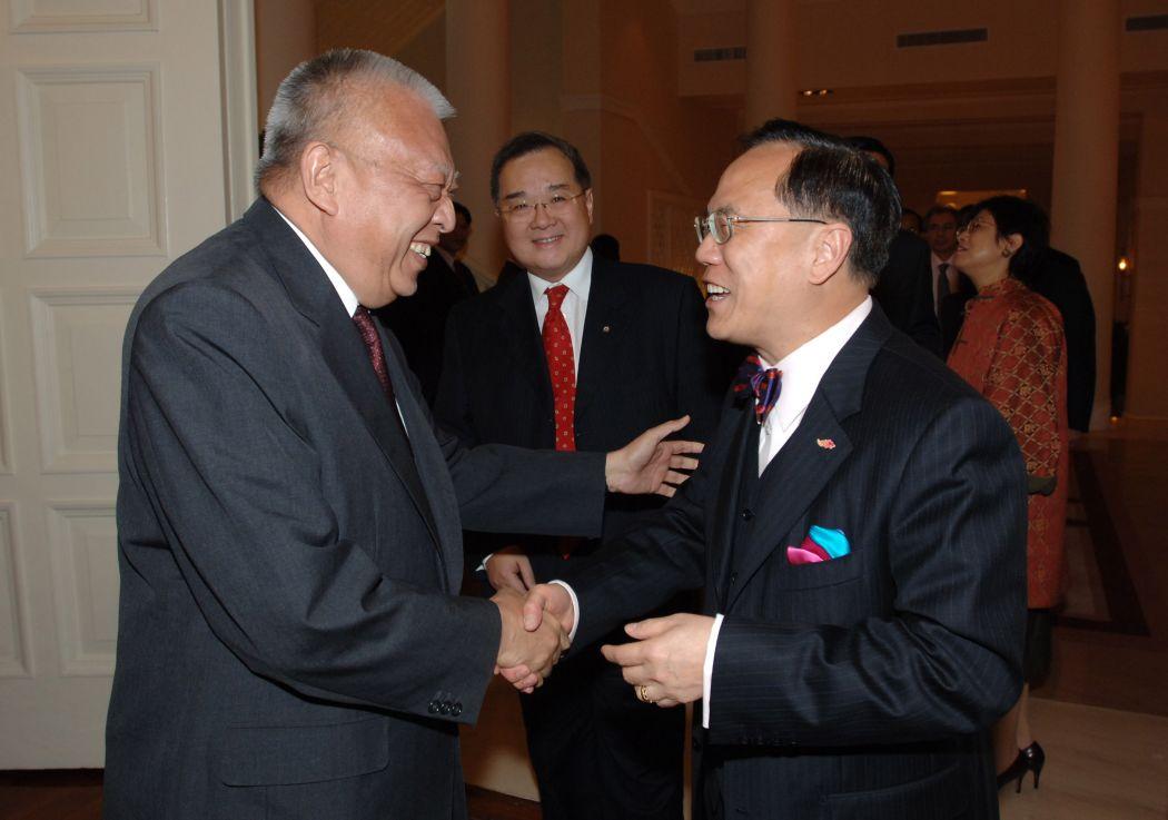 Tung Chee-hwa Donald Tsang