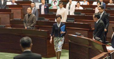 Carrie Lam Legislative Council