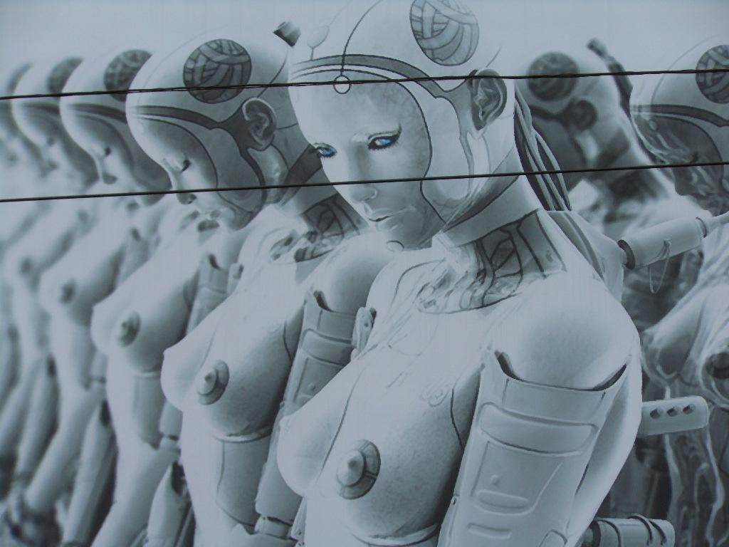 sex robot poster