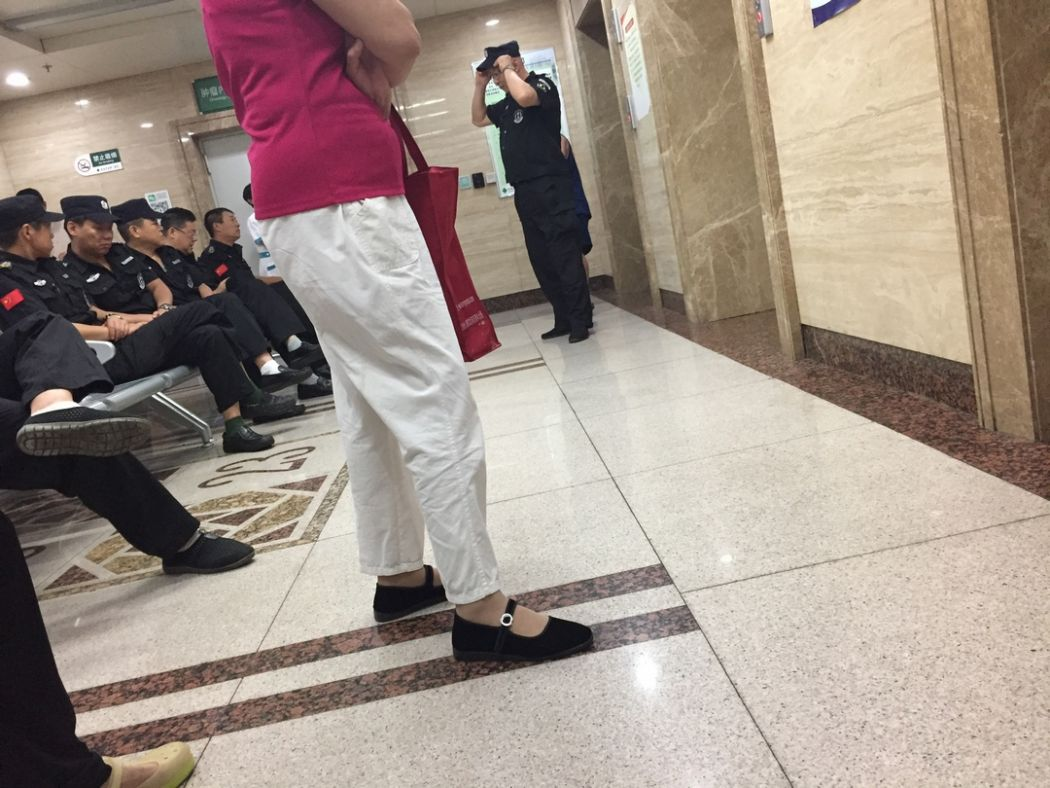 liu xiaobo windows hospital