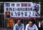 liu xiaobo sit in