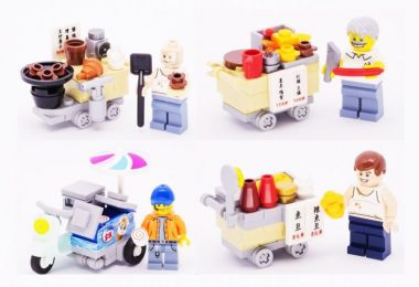 LEGO street food