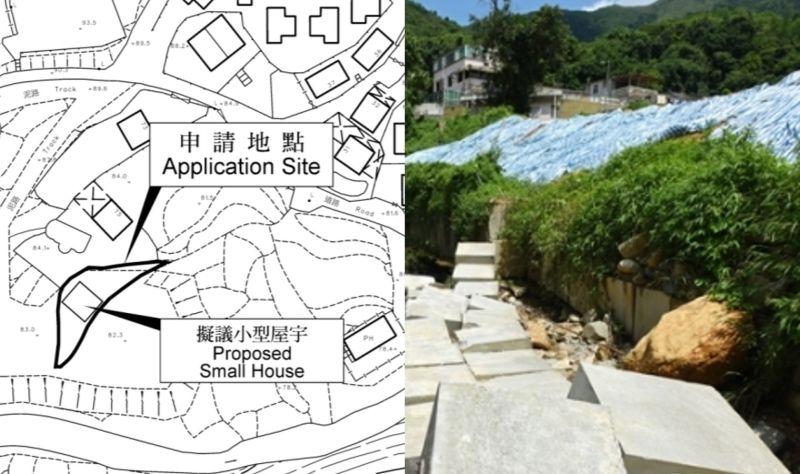 illegal waste soil dump Lam Tsuen Pak Ngau Shek Sheung Tsuen