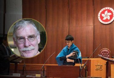 Tim Hamlett Legislative Council oaths oath-taking baggio leung