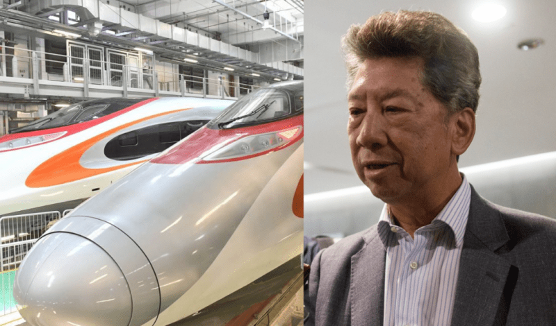 ronny tong high speed rail