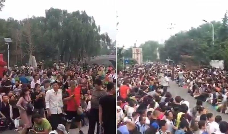Shanxinhui charity ponzi scheme protest beijing