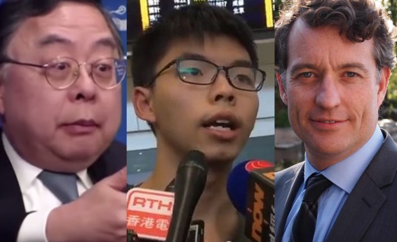 anders corr joshua wong ronnie chan