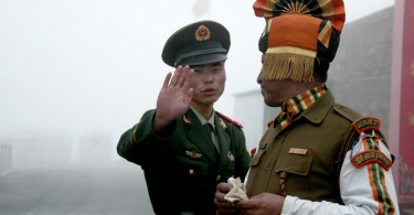 china india border