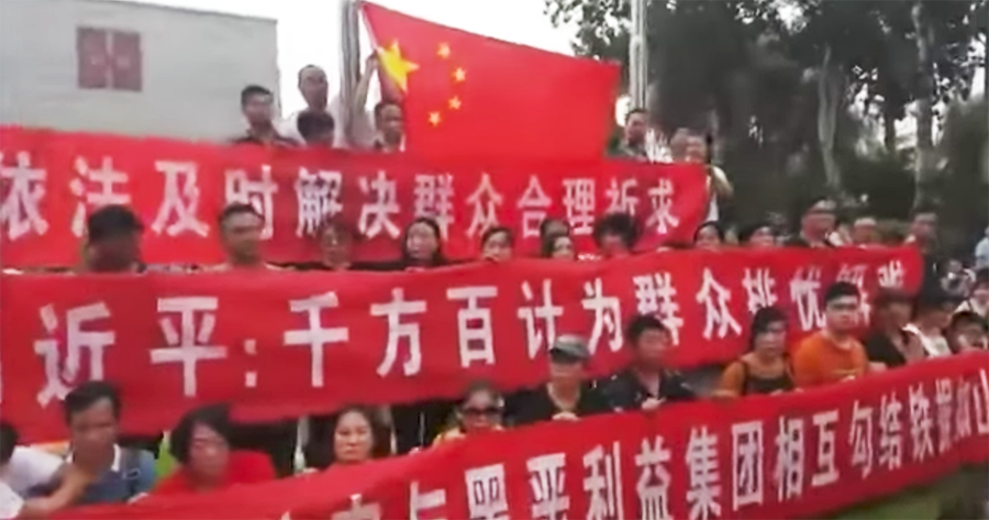shanxinhui beijing protests