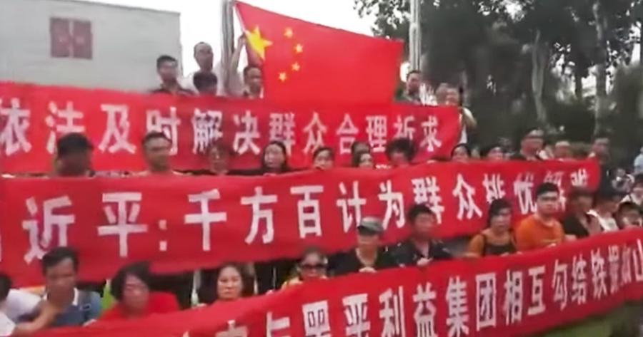 shanxinhui beijing protests