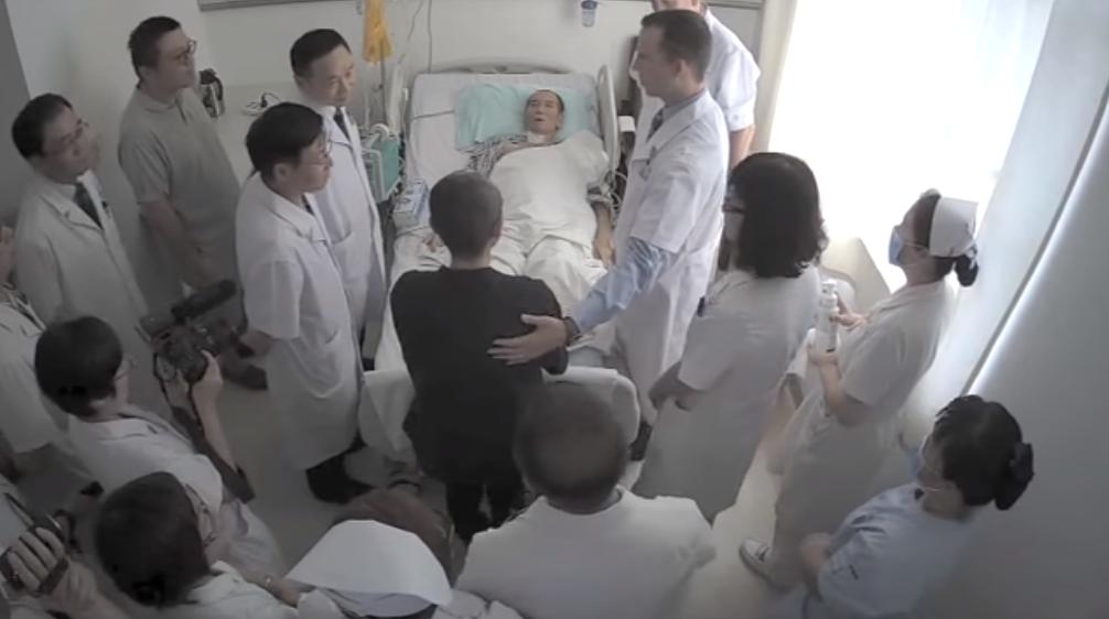 liu xiaobo foreign doctors