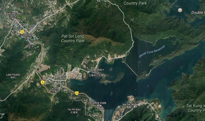 Plover Cove Reservoir Tai Po
