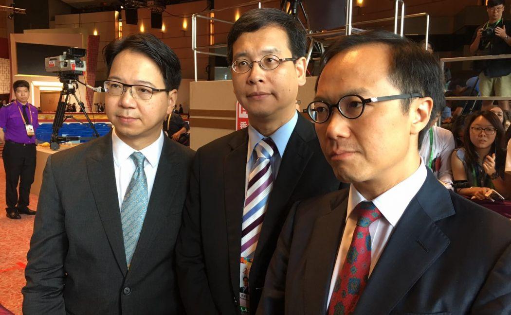 Charles Mok, Ip Kin-yuen, Kenneth Leung