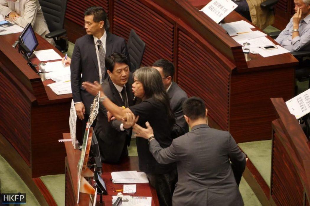 Leung Kwok-hung Legislative Council LegCo