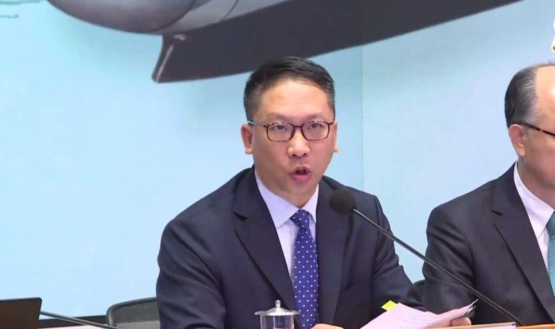 Secretary for Justice Rimsky Yuen
