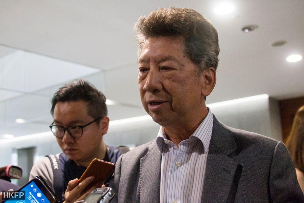 ronny tong kris legco reporter beraksi