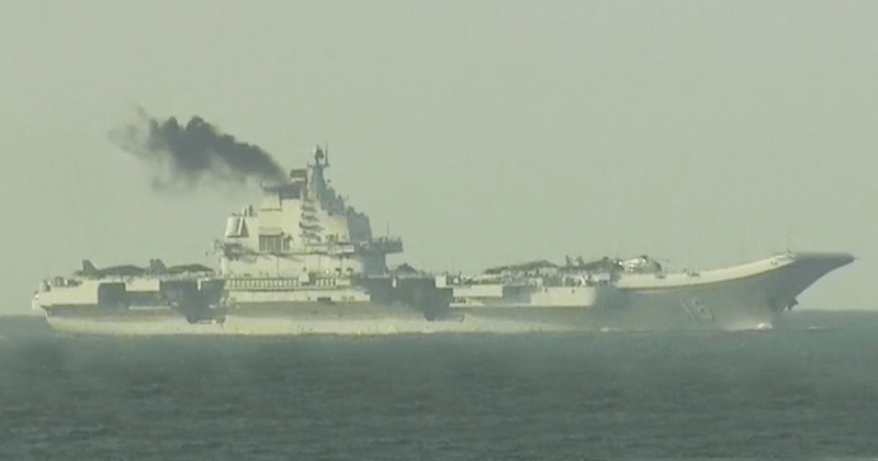 liaoning aircraft carrier military army china