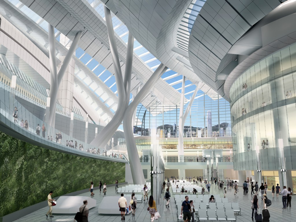 Express Rail Link West Kowloon Terminus
