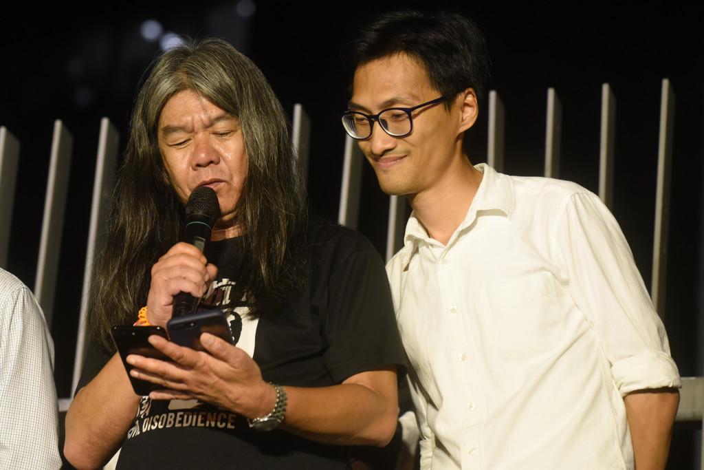 Leung Kwok-hung Eddie Chu