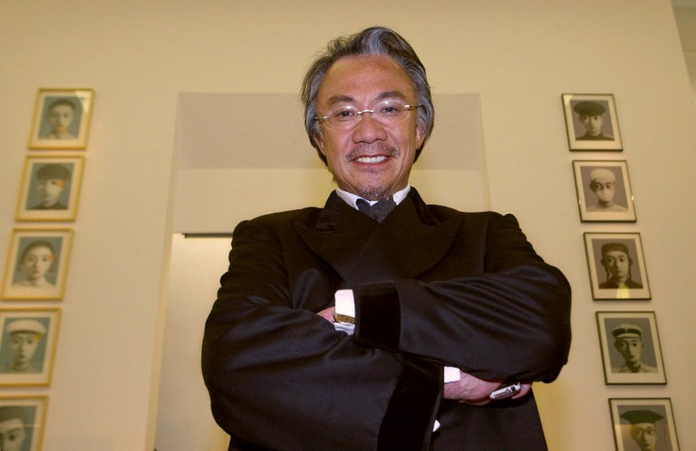 Sir David Tang, socialite and businessman, dies aged 63