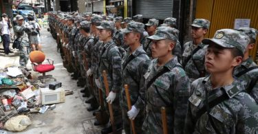 PLA Army Macau