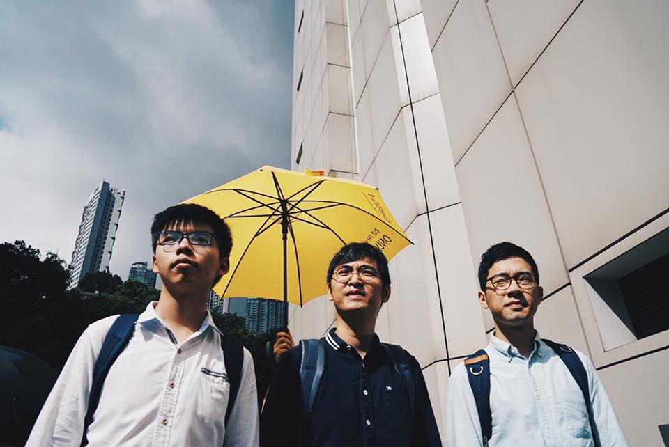 Three young Hong Kong democracy leaders jailed
