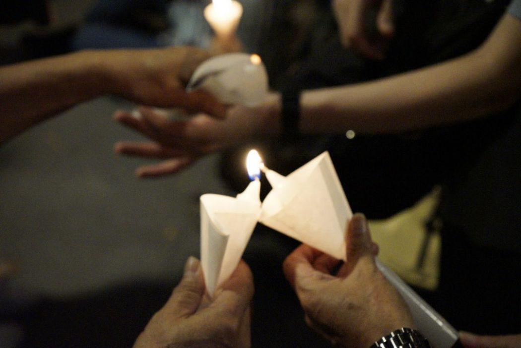 liu xiaobo candles