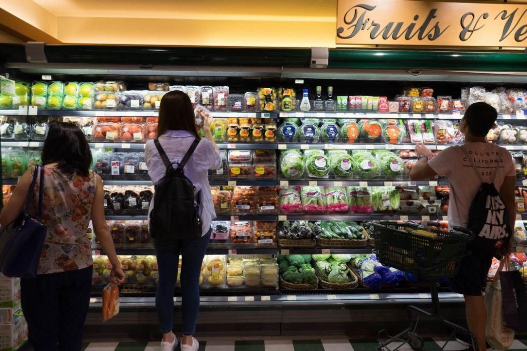 fruits vegetables supermarket