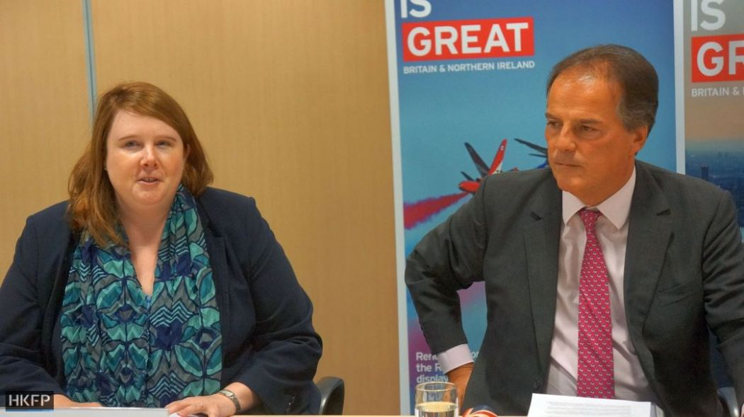 Esther Blythe and Mark Field