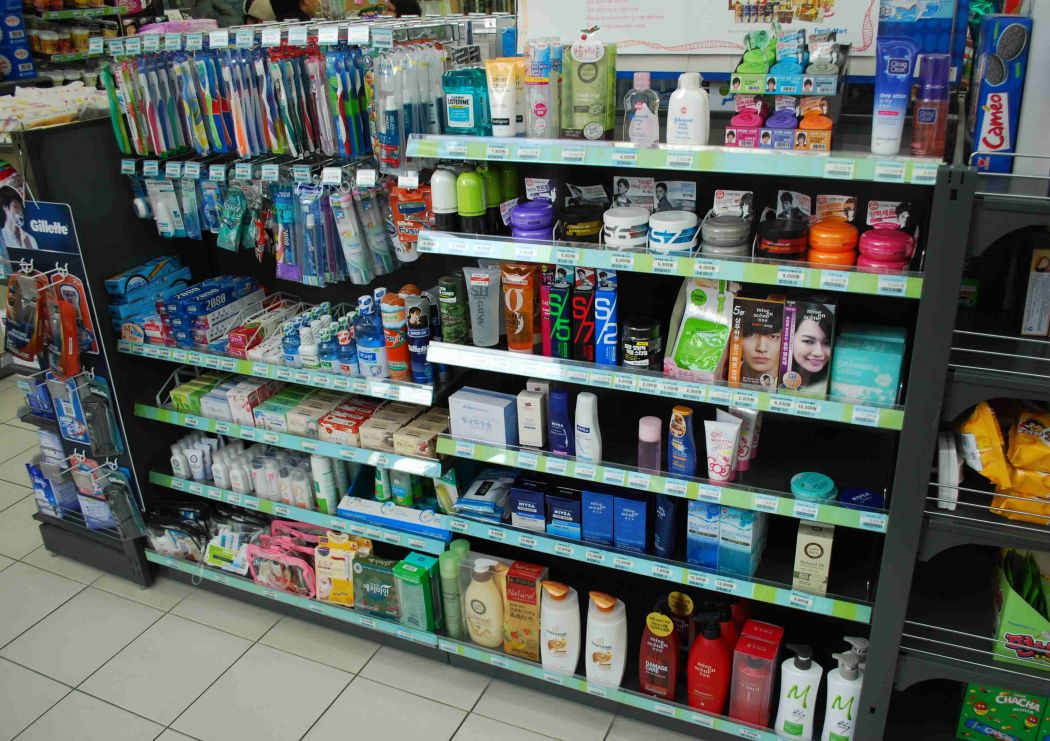 supermarket toiletries