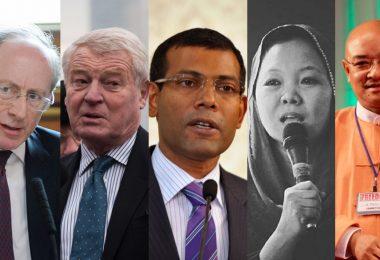 politicians nathan law alex chow joshua wong