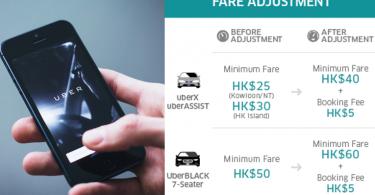 uber fare rise