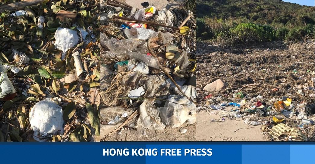 pollution sham wan beach typhoons