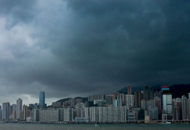 hong kong storm