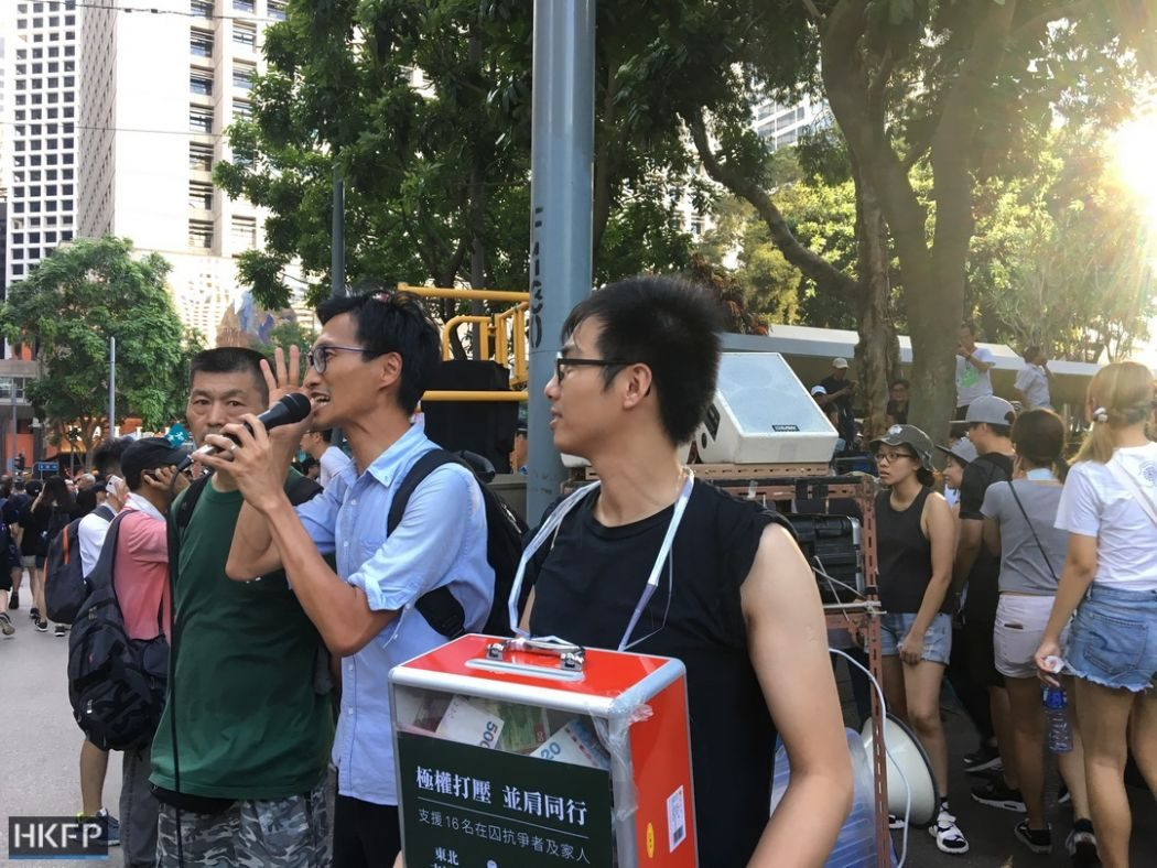 eddie chu political prisoner occupy activist protest rally democracy