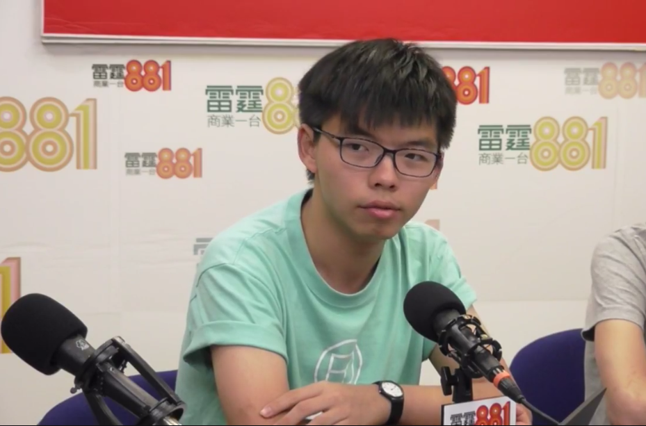 20-Year-Old Activist Joshua Wong Jailed for 6 Months