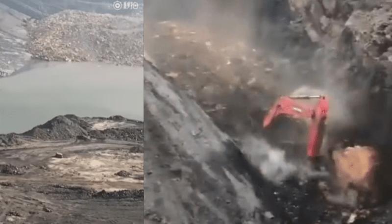 mining accident shanxi landslide