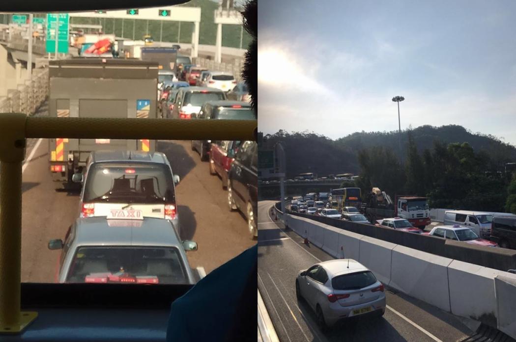 congestion lantau link