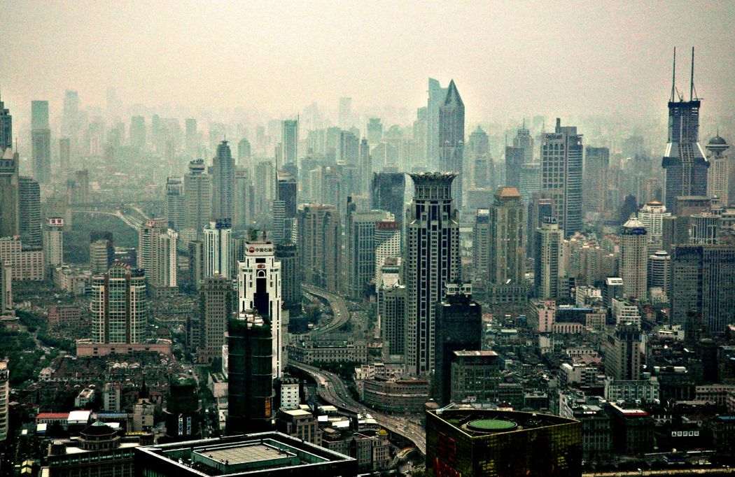 shanghai skyscape