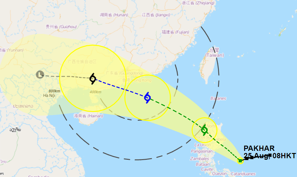 tropical cyclone pakhar