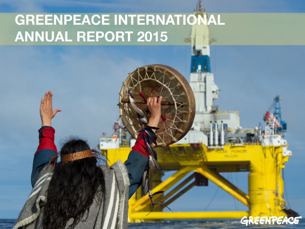 greenpeace annual report 2015