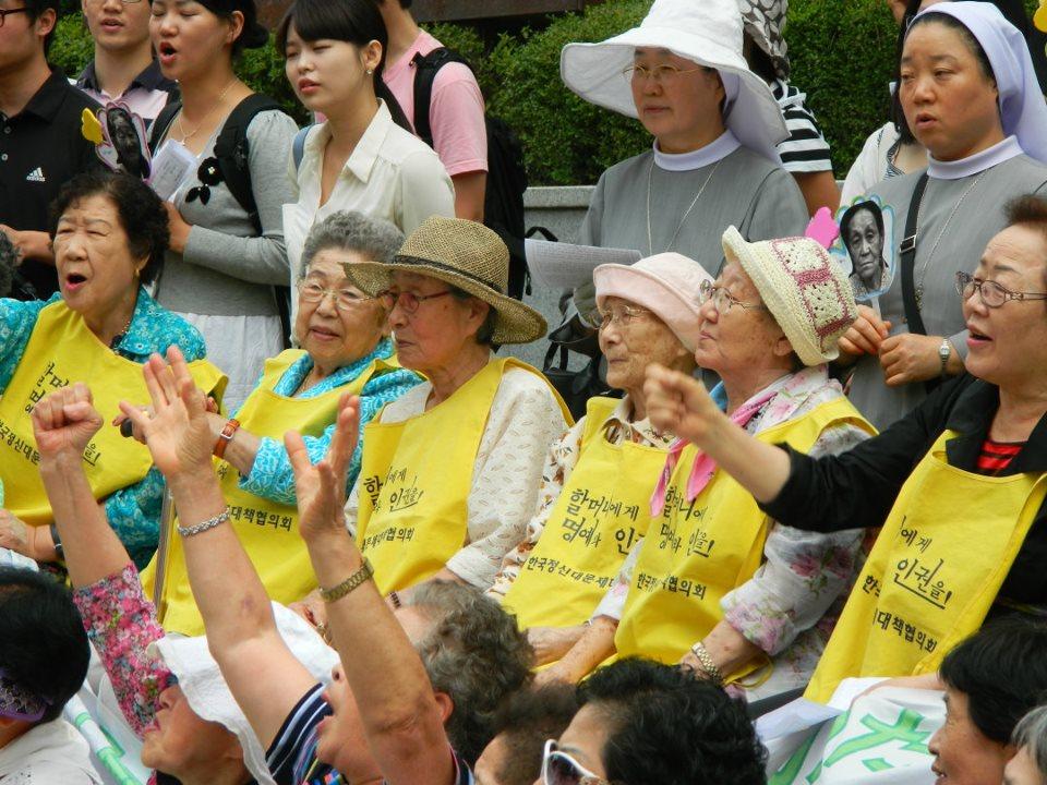 comfort women protest 2011