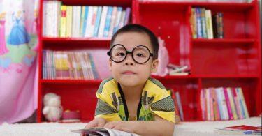 school kid child boy asian glasses
