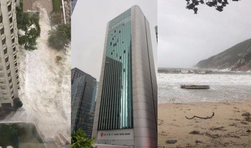 typhoon destruction