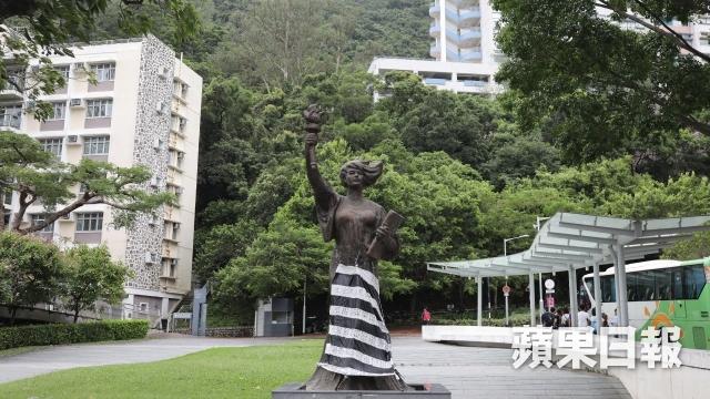 goddess of democracy chinese university political prisoners