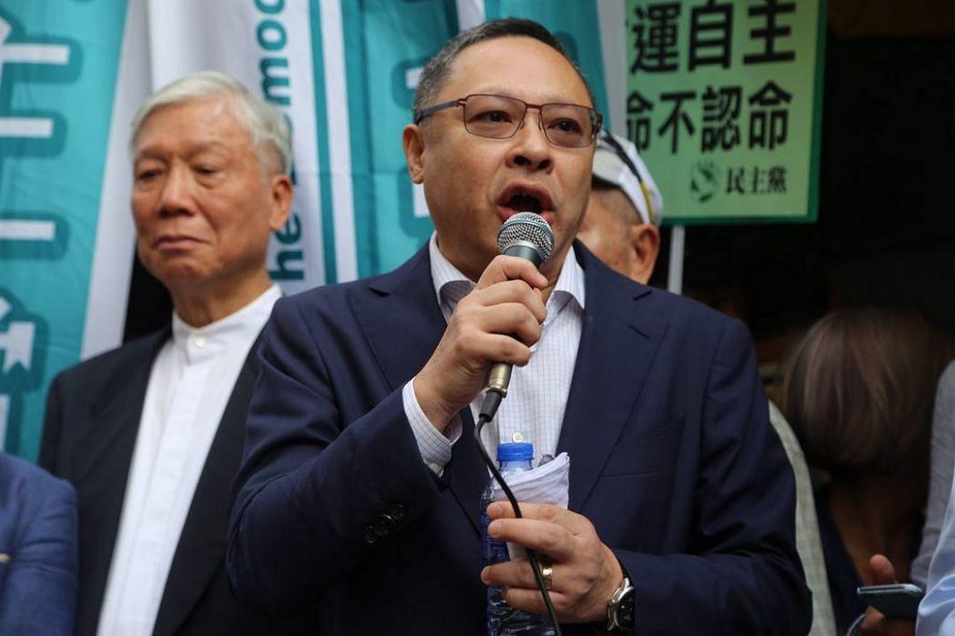 Reverend Chu Yiu-ming and Benny Tai