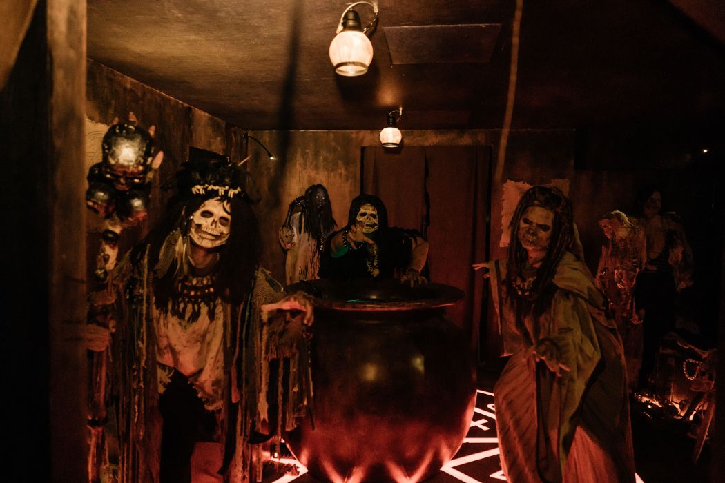 The 'Buried Alive' haunted house