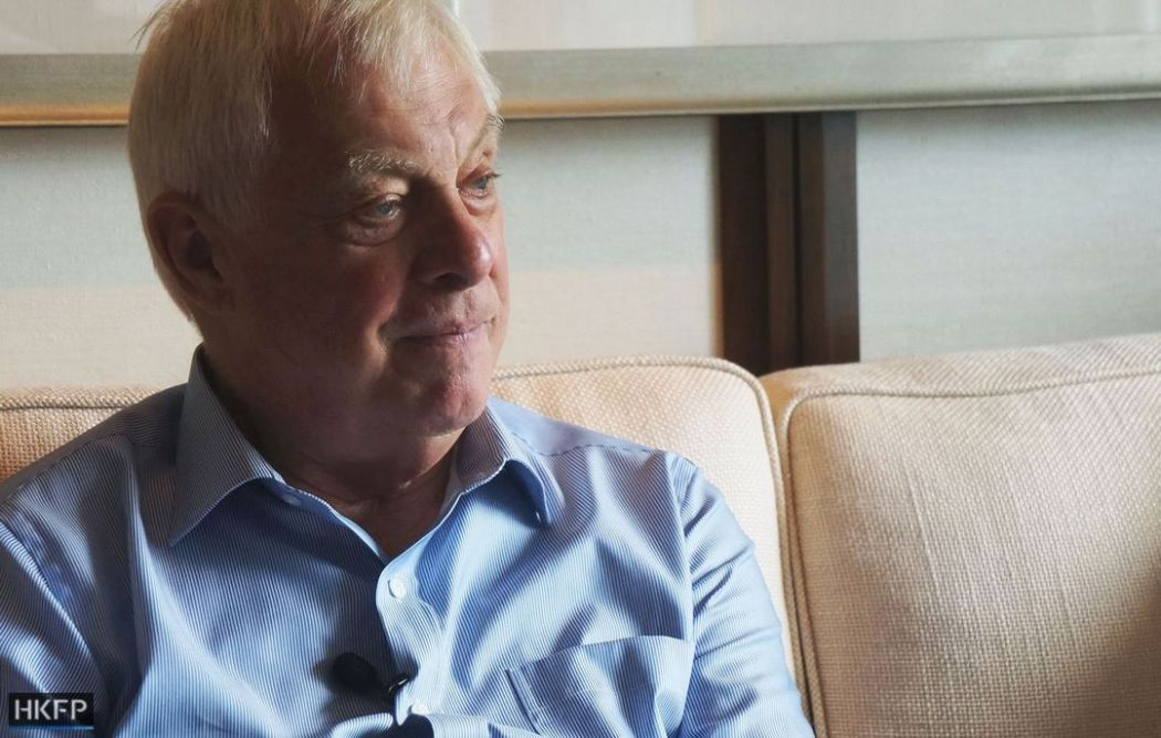 Chris Patten.