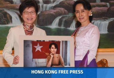 carrie lam aung san suu kyi
