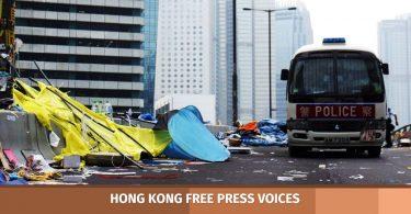 occupy hk anniversary